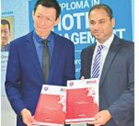 BCAS Campus – Help CAT (Malaysia) Tie-up to offer Hotel Management Diploma